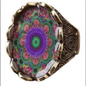 Desigual Ring Triplumas Magic Look Bronze